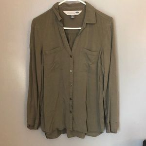 The Boyfriend Shirt Olive Size M